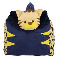 Kids Animal School Plush Backpack