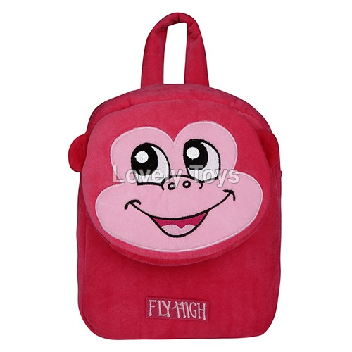Velbag School Bag Dark Pink