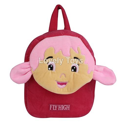 Velbag School Bag Red Pink