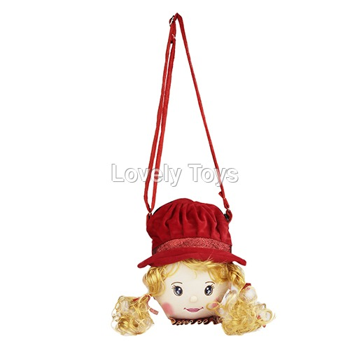 Princes Red Gold Kids Soft Sling Bag