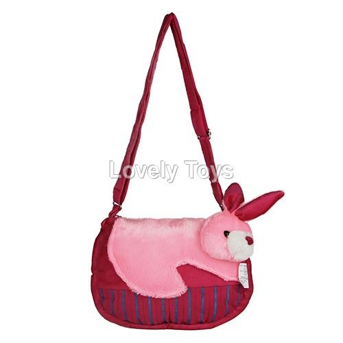 Baby Pink Kids Soft Sling Bag