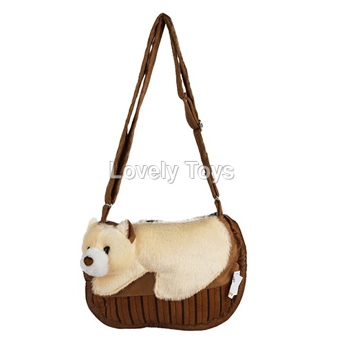 Cotton Brown Kids Soft Sling Bag