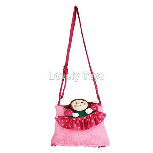 Sweety Baby Pink Kids Soft Sling Bag