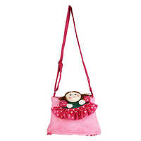 Sweety Baby Pink Kids Soft Sling Bag