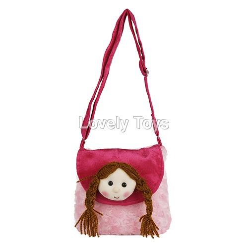 Veni Baby Pink Kids Soft Sling Bag