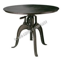 Solid Metal Table