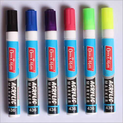 Acrylic Water Base Marker 8 Pcs PP box