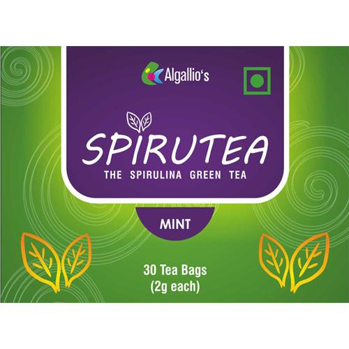 Mint Flavour Green Tea