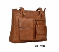 Vintage Ladies Leather Hand Bags