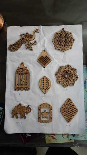 Antique Wooden Button