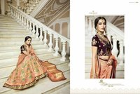 Pure Jacquard Silk Designer Lehenga