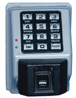 BIOMETRIC KEYPAD WITH FINGERPRINT SCANNER