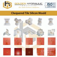 Chequered Tile Silicone Moulds