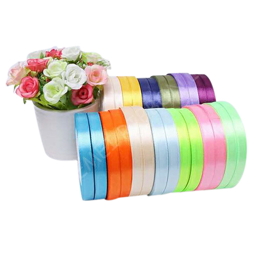 Colored Fabric Satin Ribbon