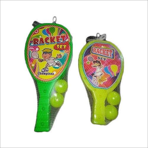 Champions Plastic Racket Set
