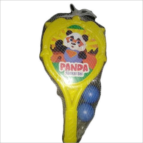 Panda Plastic Racket Set