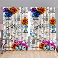 Digital Printed Polyester Curtains