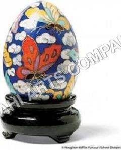 Egg Painting Urn