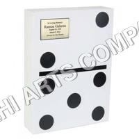 White Domino Urn