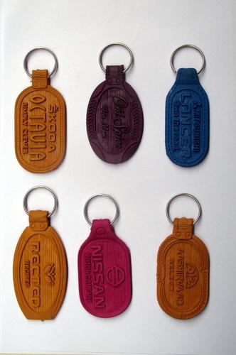 PVC Keyrings