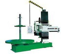 Column Base Cutting Machine