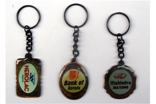 Custom Metal Keyrings