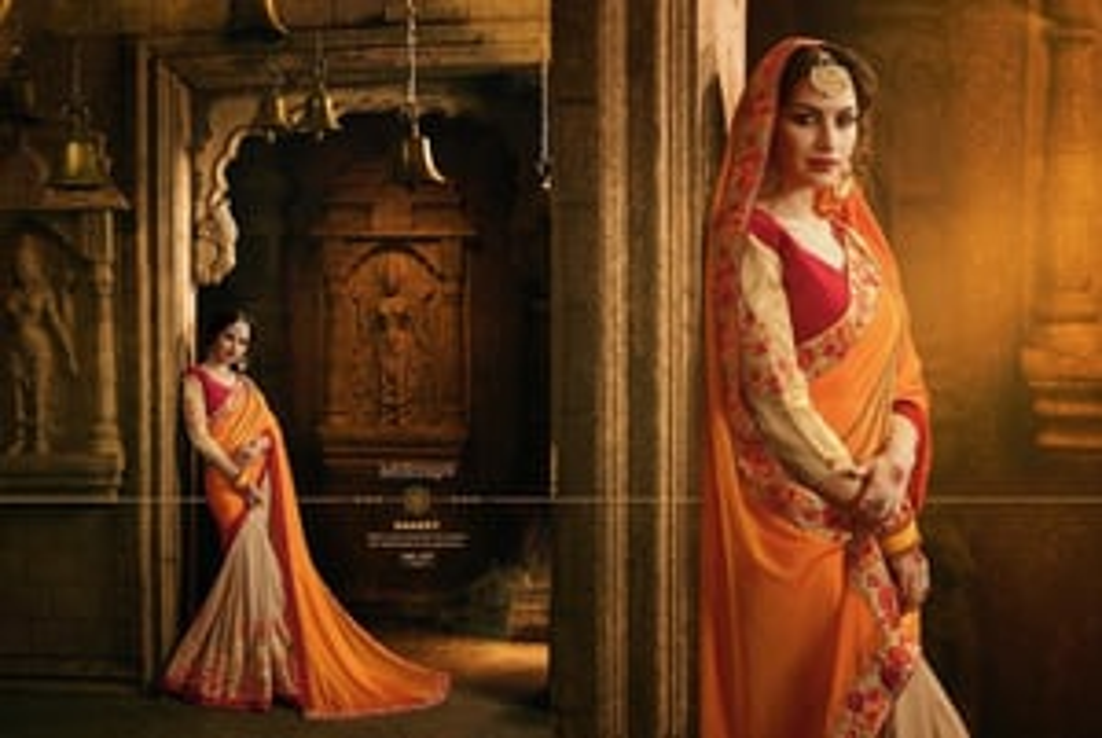 Designer Heavy Work Sarees