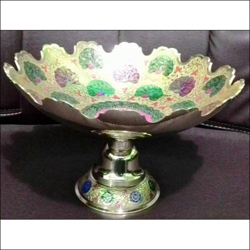 Metal Brass Fruit Bowl