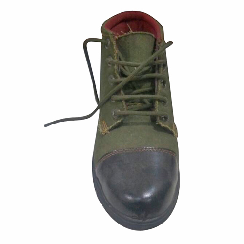Mens Canvas Safety Shoes