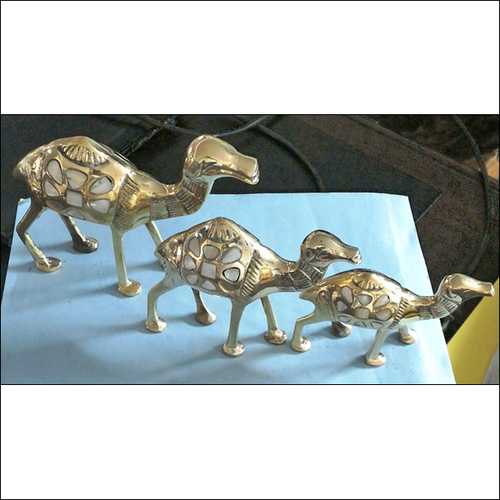 Brass Camel Set