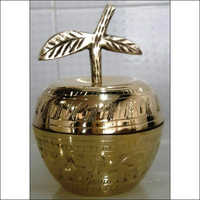 Brass Powder Pot
