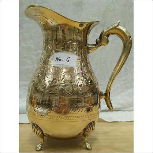 Brass Water Jug