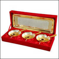 Gold brass Set