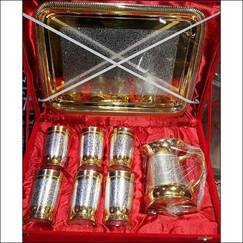 Silver & Gold Jug Set