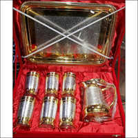 Silver Gold Jug Set