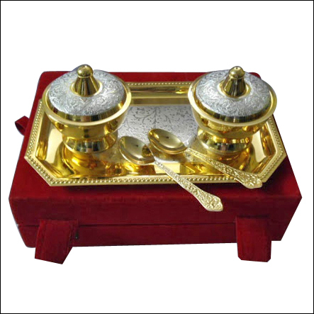 Brass Sugar Sets