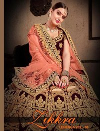 Heavy Designer Marriage Lehenga