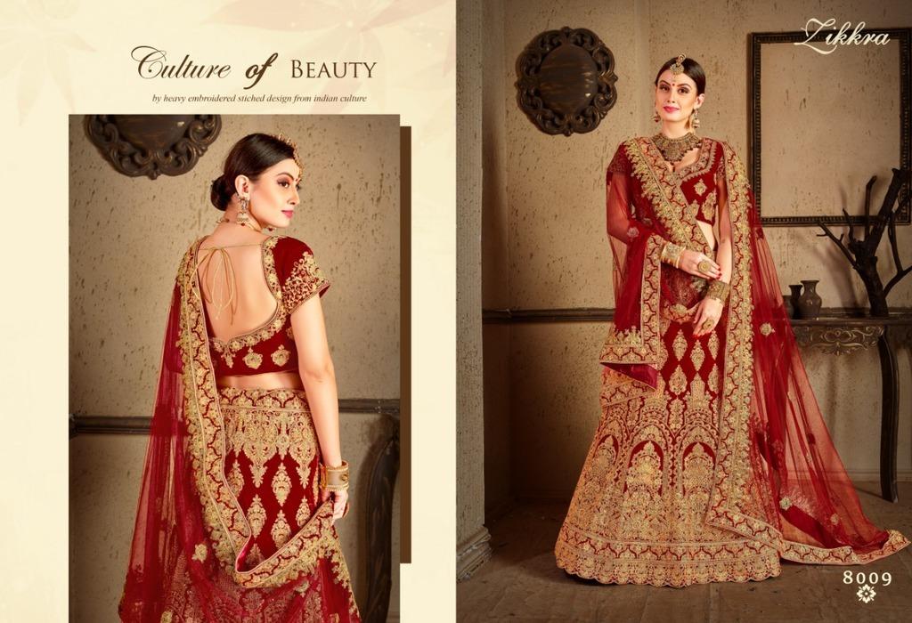 Indian Beautiful Designer Bridal Lehenga