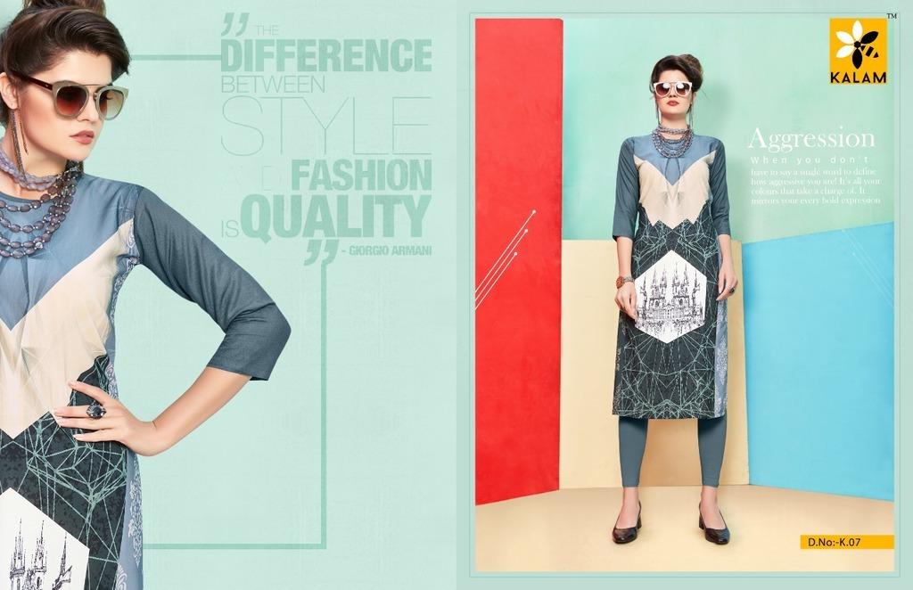 Latest Designer Rayon kurtis