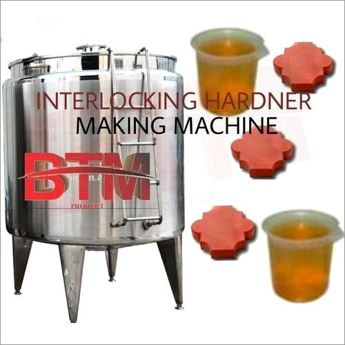 Automatic Block Hardener Making Machine