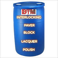 Interlocking Paver Block Lacquer Polish