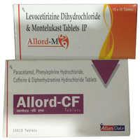 Levocetirizine Dihydrochloride & Montelukast Tablets IP