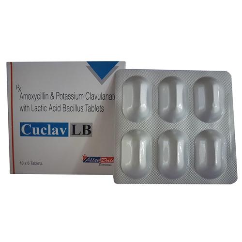 Amoxycillin  Potassium Clavulanate Lactic Acide Bacillus Tablets
