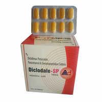 Diclofenac Potassium Paracetamol Serratiopeptidase Tablets