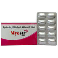 Myo-Inositol, L-Methylfolate & Vitamin-D3 Tablets