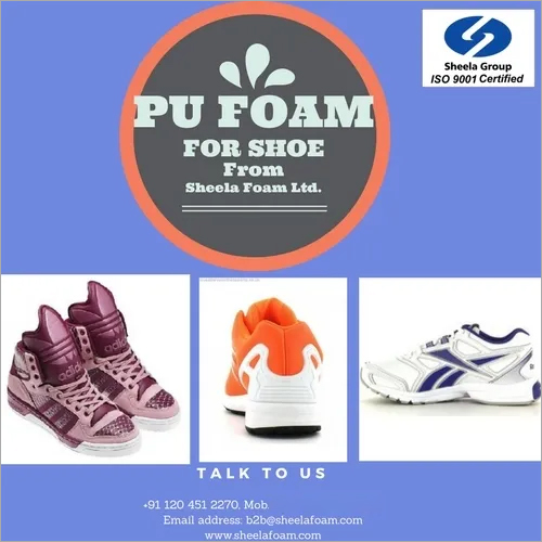 Polyurethane Shoe Upper Foam