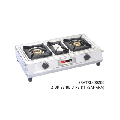 Two Burner SS BB 3 PS DT (Sahara)