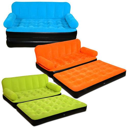 Air Sofa Cum Bed - Color Velvet