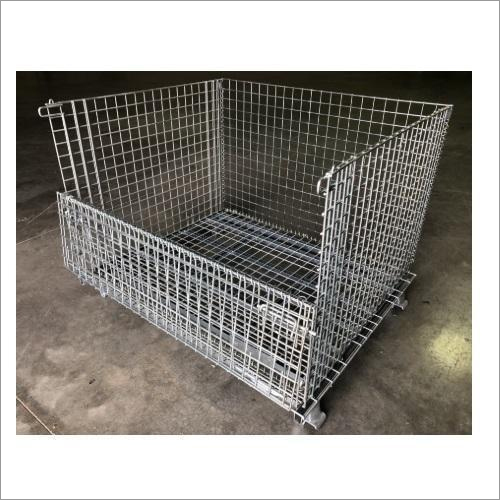 Wire Mesh Collapsible Container