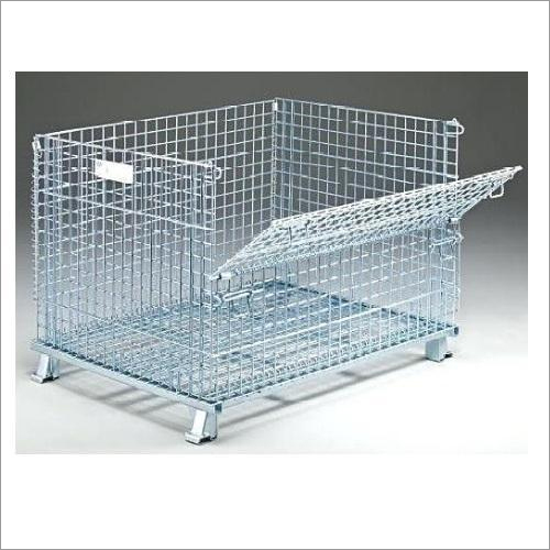 Wire Mesh Cage Container